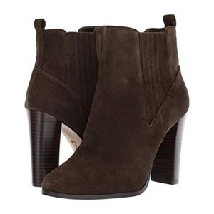 Nine West Crimson Boots - Dark Green Size 7